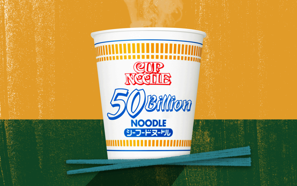 Nissin Sold Its 50 Billionth Cup Noodle While Buying Its Own Stock, Making It An Instant Investment